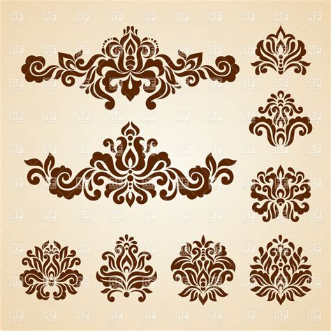 design elements com ornate vintage vignettes and dividers antique decorative