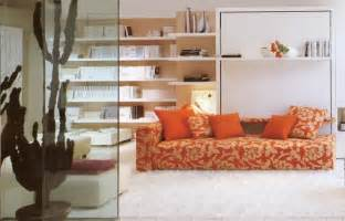 Murphy Bed Sofa Ikea Endearing Living Room Design Featuring Brown Sofa Combined