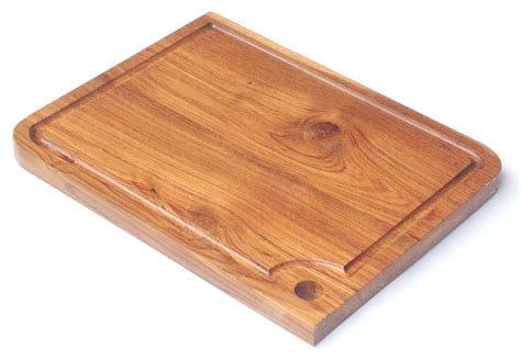 reclaimed teak chopping board by thai pepper envirogadget