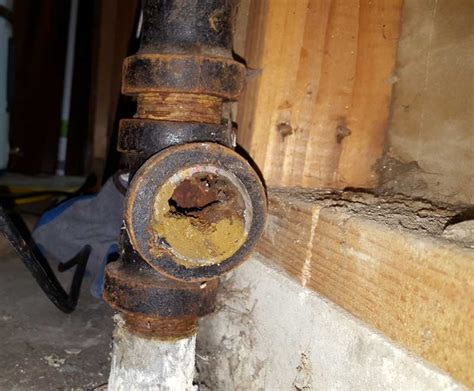 Replacing Galvanized Plumbing by Replace 1 5 Quot Galvanized Washer Drain With 2 Quot Abs Terry