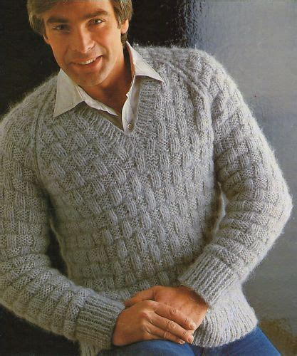 mens sweater knitting pattern knitting pattern sweater cardigan with buttons