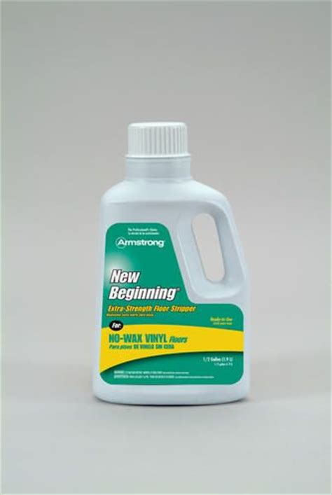 New Beginnings Floor Cleaner by Just Used This On No Wax Vinyl Flooring That We Thought