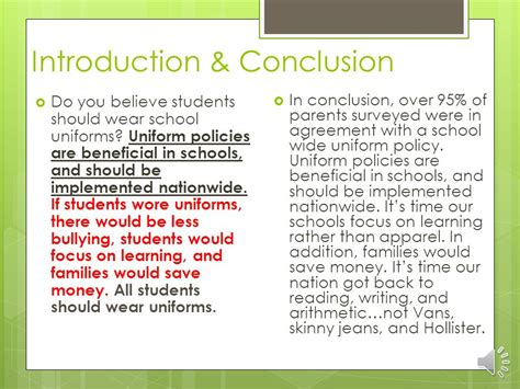 Should Schools Uniforms Persuasive Essay by Argumentative Essay Topics School Uniforms