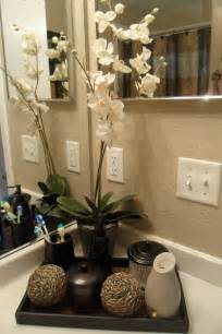 bathroom countertop decorating ideas decorating with one pink chic went shopping and redone my