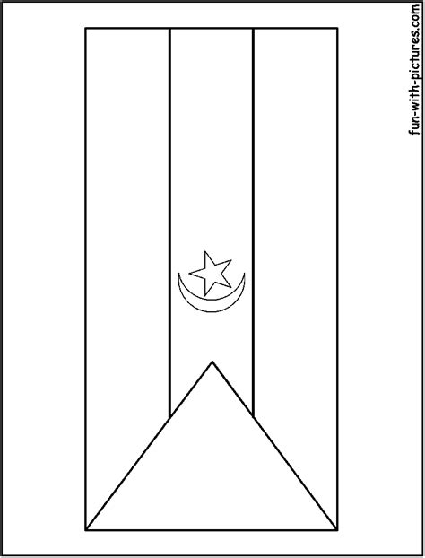 free coloring pages of flag of kenya