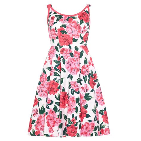 Cotton Dress 1950s horrockses floral cotton dress for sale at 1stdibs