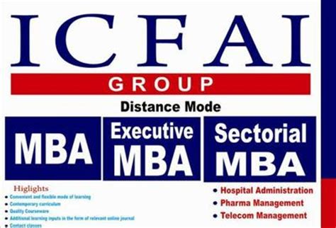 Distance Mba From Icfai Sikkim by Icfai In Ambavadi Master Degree Professional