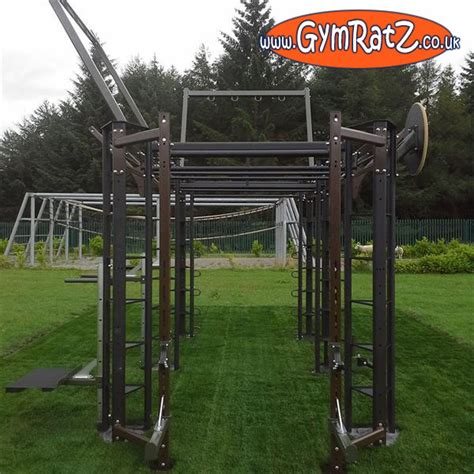 military outdoor crossfit rig