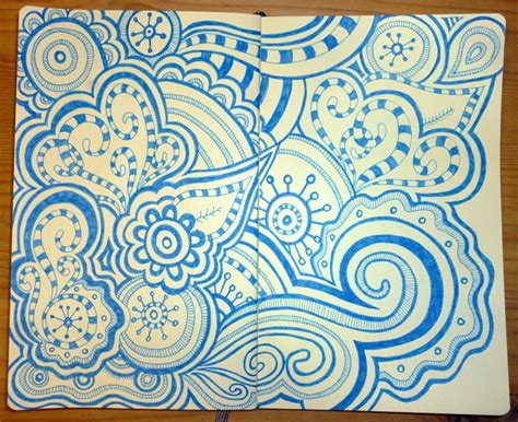 doodle blue 40 best images about my doodles on coloring
