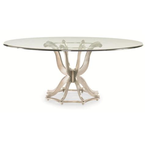 Century Furniture Dining Room Fair Park Metal Base Dining Table With Glass Top 41a 305 Norris Century 55a 307 Omni Metal Base Dining Table With Glass Top Discount Furniture At Hickory Park