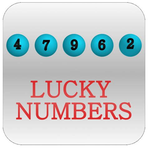 lucky lottery numbers on the app store