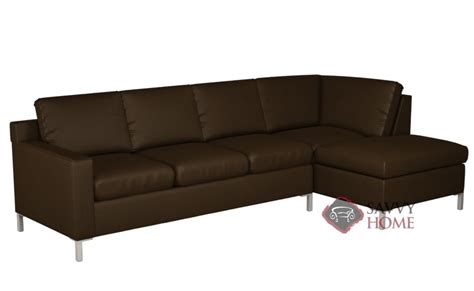 Soho Leather Chaise Sectional By Lazar Industries Is Fully Soho Sectional Sofa