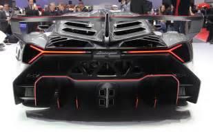Lamborghini Veneno Back 50th Anniversary Lamborghini Veneno