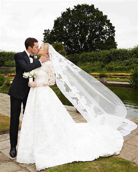 26 brides who wore unforgettable veils martha stewart weddings