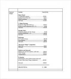 Project Budget Proposal Template Budget Proposal Template 9 Free Download For Pdf Word