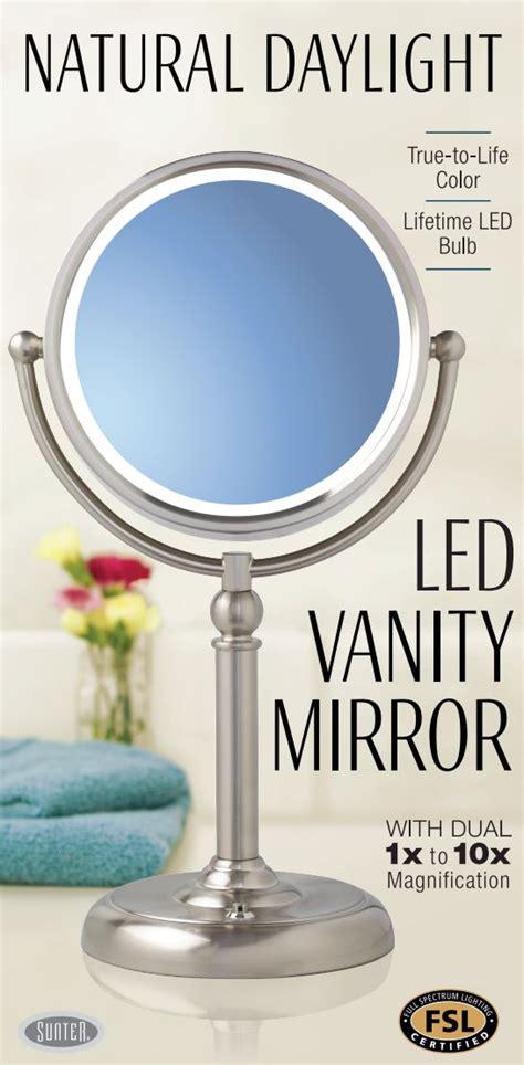 Daylight Vanity Mirror by 2017 Sunter Daylight Vanity Mirror