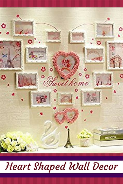 heart home decor adorable charming and unique heart shaped wall decor