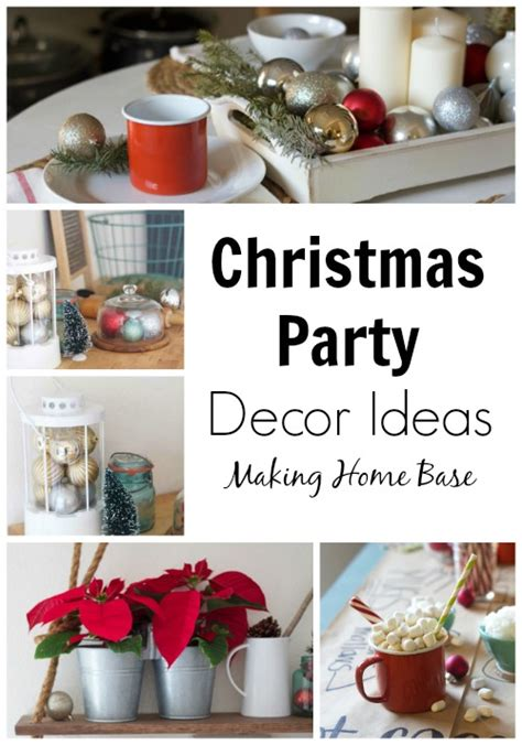 home decorating party christmas party ideas