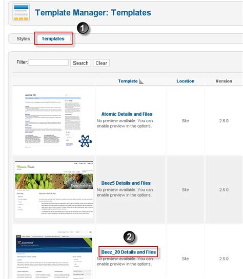 how to edit site template in joomla 2 5 joomtut