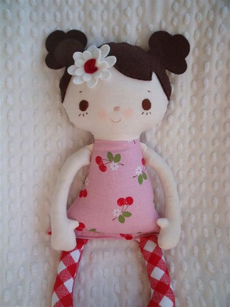 Handmade Cloth Doll - reserved for barb my friend a handmade cloth doll