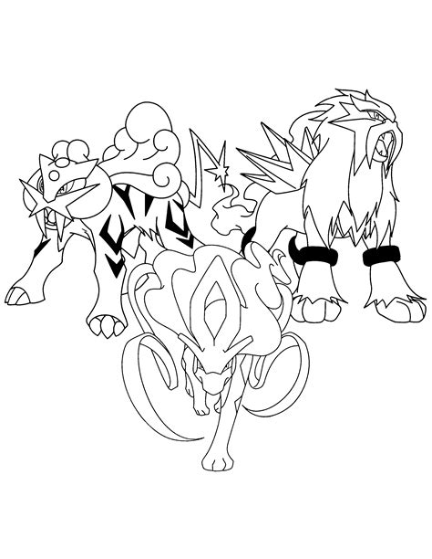 pokemon coloring pages suicune pokemon printables coloring pages suicune many interesting