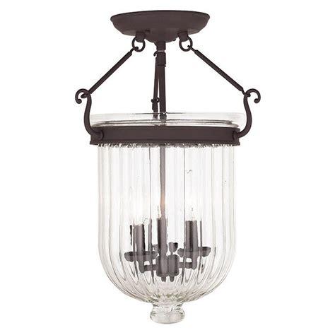 bronze flush mount light livex lighting coventry 3 light bronze flushmount 50516 07