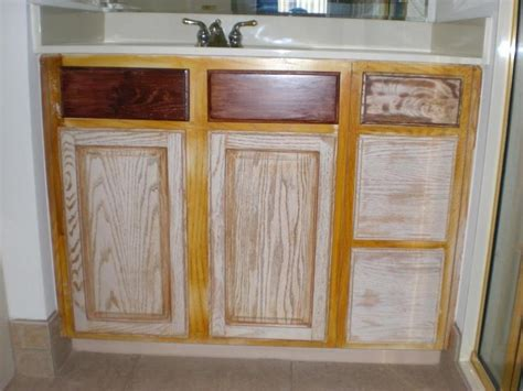 pickled cabinets pickled oak kitchen cabinets photos