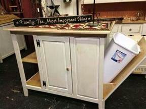 build a kitchen island with trash storage diy projects kitchen island with trash bin home design