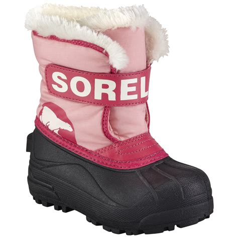 toddler winter boots sorel youth toddler snow commander winter boot