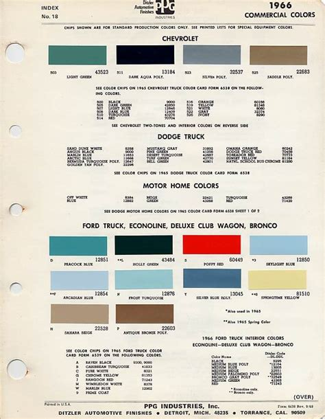 1966 color codes chevrolet paint cross reference autos autos post