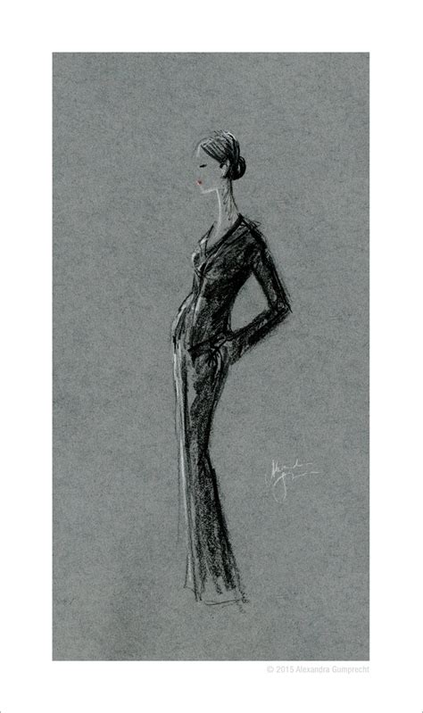 fashion illustration on black paper fashion illustration black by stilleswasser on deviantart