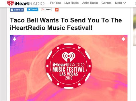 Taco Bell Sweepstakes - iheartradio taco bell vip fly away sweepstakes