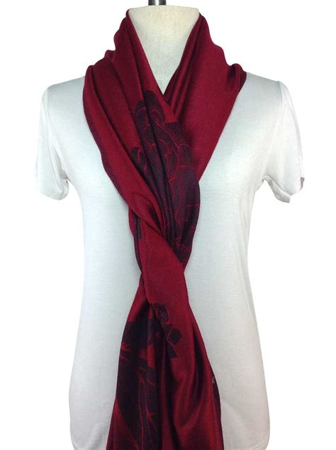 patterned pashmina direct from thailand