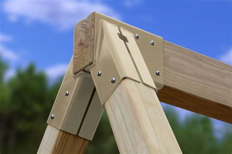 wooden swing set hardware free standing a frame bracket 11 5009