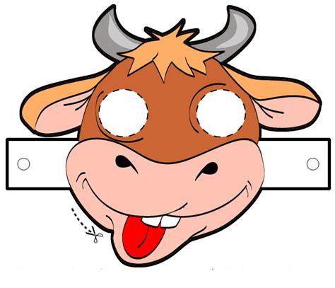 lade bambini disney maschera di carnevale la mucca