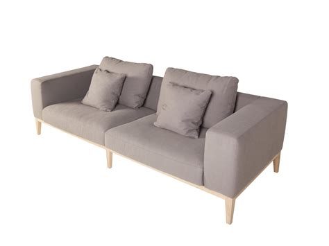 sits sofa upholstered 3 seater fabric sofa vincent by sits