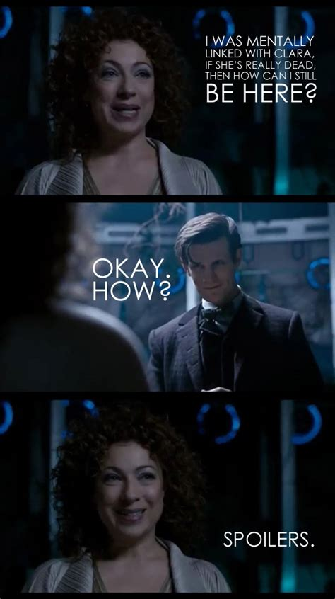 doctor who river song spoilers my doctor who obsession it s all mikayla s fault