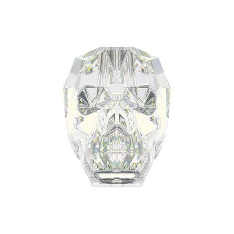 swarovski jewelry supplies swarovski 5750 19mm ab skull bead skull