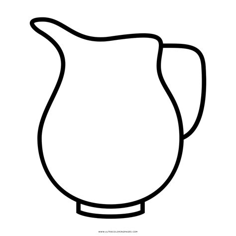 Coloring Page Of A by Coloring Pictures Of A Water Pitcher Coloring Pages