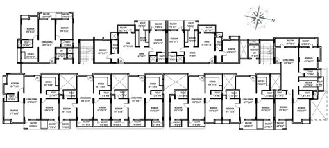 Floor Plans For Multi Family Homes by Multi Family Compound House Plans Family Compound Floor