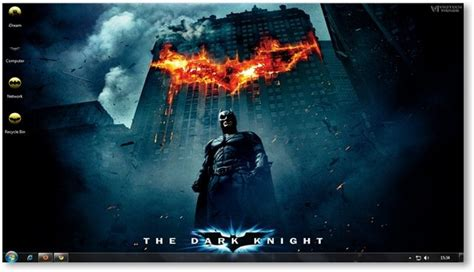 themes for windows 7 movies windows 7 themes the dark knight wallpapers theme for