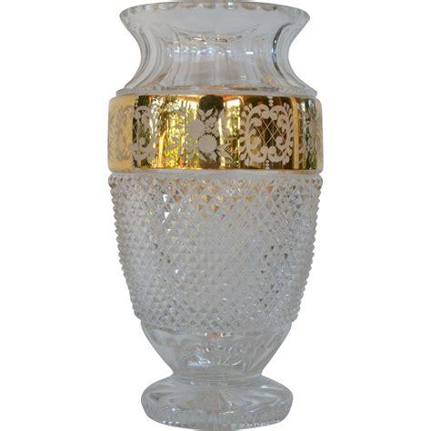a vintage tom bohemia lead vase