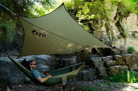 backyard tarp eno pro fly rain tarp outdoor cing gear ripstop nylon