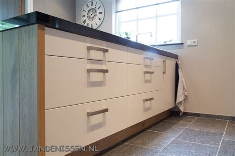houten planken keuken trendy massief eiken planken met mdf with planken in de keuken