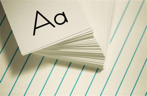 Alphabets Flash Cards Printable
