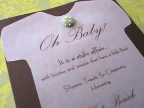 handmade baby shower invitations favecrafts