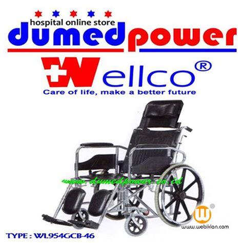 Kursi Roda Wellco kursi roda 3 in 1 quot wellco quot jual tempat tidur pasien