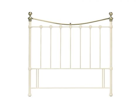 double metal headboard bentley designs amelie 4ft small double white metal