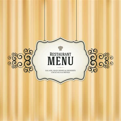 menu design eps set of menu cover design vector 06 vector cover free