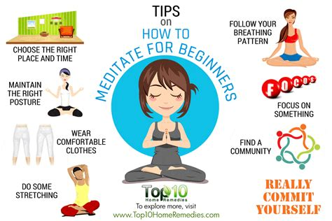 tips on how to a 10 tips on how to meditate for beginners top 10 home remedies